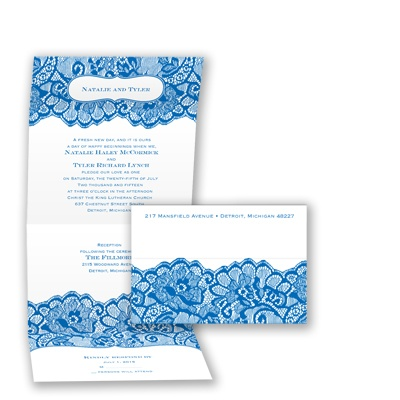 Chantilly Chic Seal and Send - Horizon - Invitation