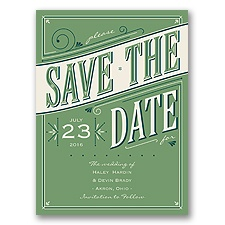 Today is the Day - Clover - Save the Date