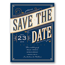 Today is the Day - Marine - Save the Date