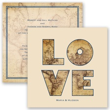 Global Romance - Marine - Invitation
