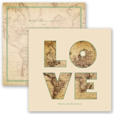 Global Romance - Clover - Invitation