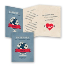 Passport to Love - Invitation