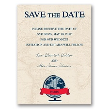 Passport to Love - Save the Date