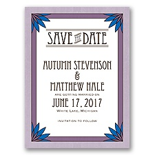 Deco Garden - Wisteria - Save the Date