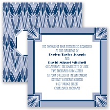 Flappers Delight - Marine - Invitation