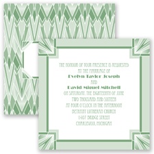 Flappers Delight - Clover - Invitation