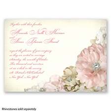 Perfect Petals - Invitation