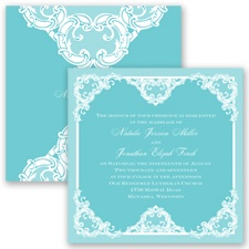 Love Lace - Pool - Invitation