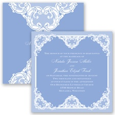 Love Lace - Bluebird - Invitation