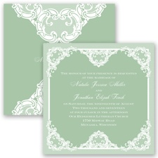 Love Lace - Meadow - Invitation