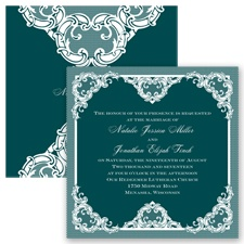 Love Lace - Gem - Invitation