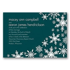 Snowflake Melody - Gem - Invitation
