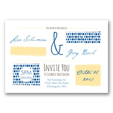 Flirty Fall Fling - Horizon - Invitation
