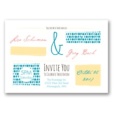 Flirty Fall Fling - Malibu - Invitation