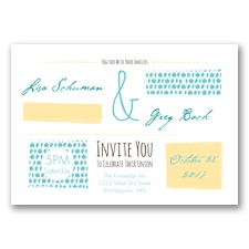 Flirty Fall Fling - Pool - Invitation