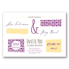 Flirty Fall Fling - Sangria - Invitation