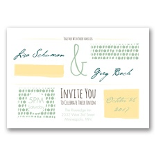 Flirty Fall Fling - Meadow - Invitation