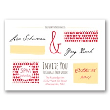 Flirty Fall Fling - Poppy - Invitation