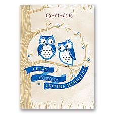Owl You Need Is Love - Horizon - Invitation