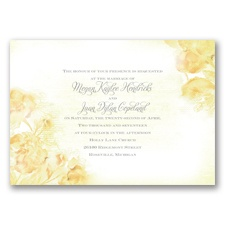 I Dream of Peonies - Buttercream - Invitation