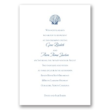 Beach Elements - Marine - Invitation