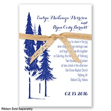 Forest Romance - Regency - Invitation