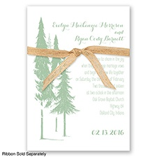 Forest Romance - Meadow - Invitation