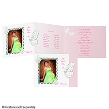 Butterfly Rainbow Quinceanera - Invitation