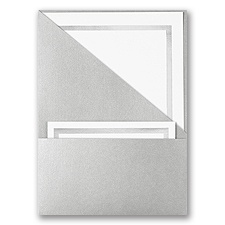 Silver Pocket - DIY Invitation Kit