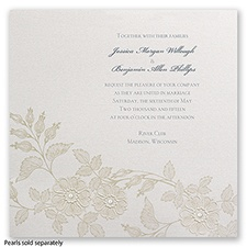 Lacy Elegance - Invitation