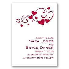 Happy Hearts - Save The Date