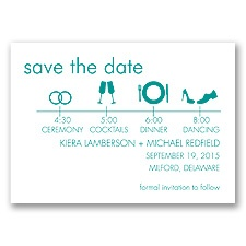 Time Line - Jade - Save the Date