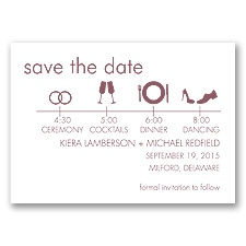 Time Line - Rosewood - Save the Date