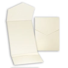 Pearl Shimmer Pocket - DIY Invitation Kit