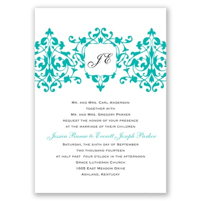 Romance - Mermaid Invitation