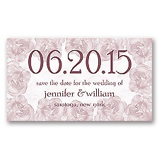Vintage Roses - Rosewood - Save the Date Magnet
