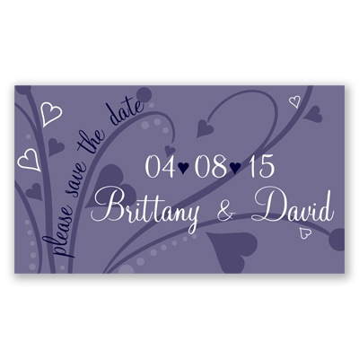 Joyful - Save the Date Magnet - Lapis