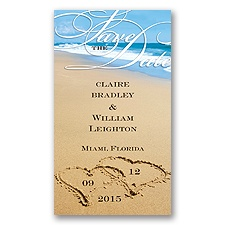 Beach - Save the Date Magnet
