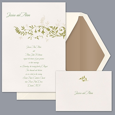 Natural Elegance - Invitation