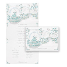 Magical Garden Quinceanera - Invitation