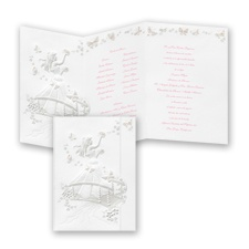 Butterfly Bridge Quinceanera - Invitation
