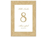 Treasured Jewels Pattern - Golden - Table Number