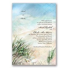 Beach Grass - Invitation