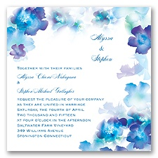 Desire - Cornflower - Invitation