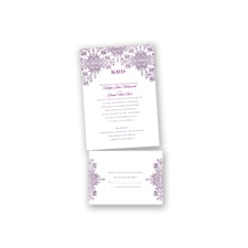 Arabesque - Wisteria - Value Invitation Set