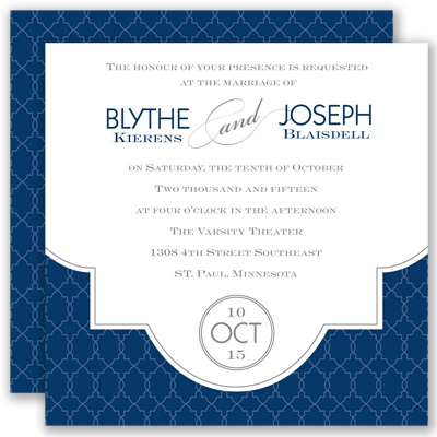 Lasting Impression - Marine - Invitation