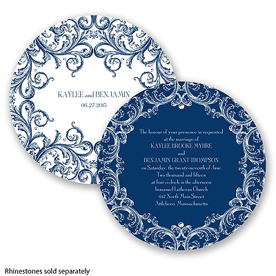 Aristocrat - Marine - Invitation