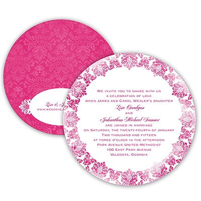 Very Vintage - Watermelon - Invitation