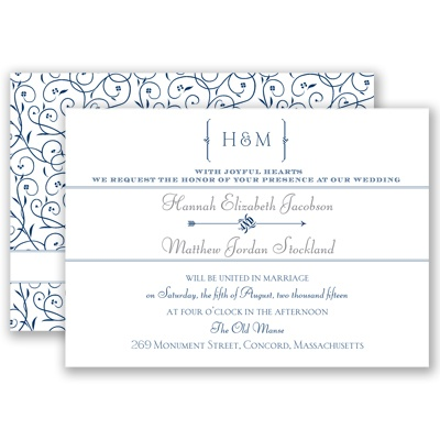 Perfect Day - Marine - Invitation