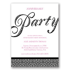 Big Party - Anniversary Party Invitation